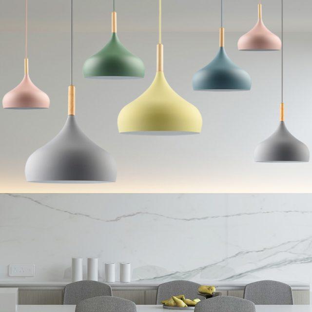 Modern Aluminum LED Pendant Light