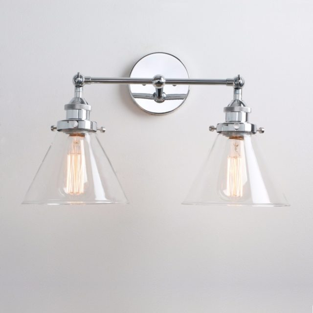 Double Design Bedroom Wall Lamp
