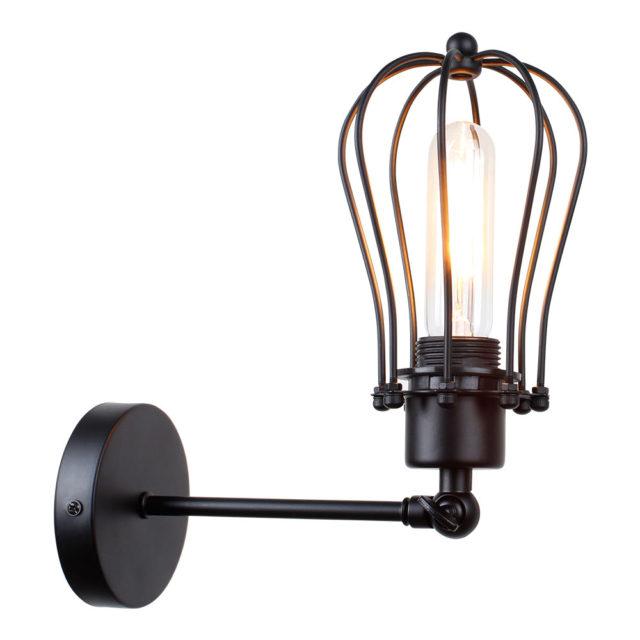 Loft Style Vintage Bedside Wall Lamp