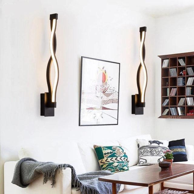 Unique High Aluminum Wall Lamp