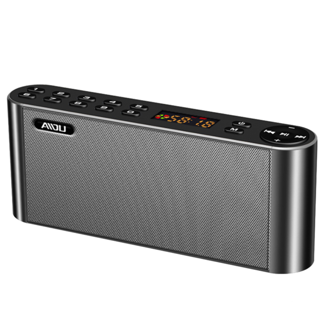 Portable Wireless HiFi Bluetooth Speaker with Microphone