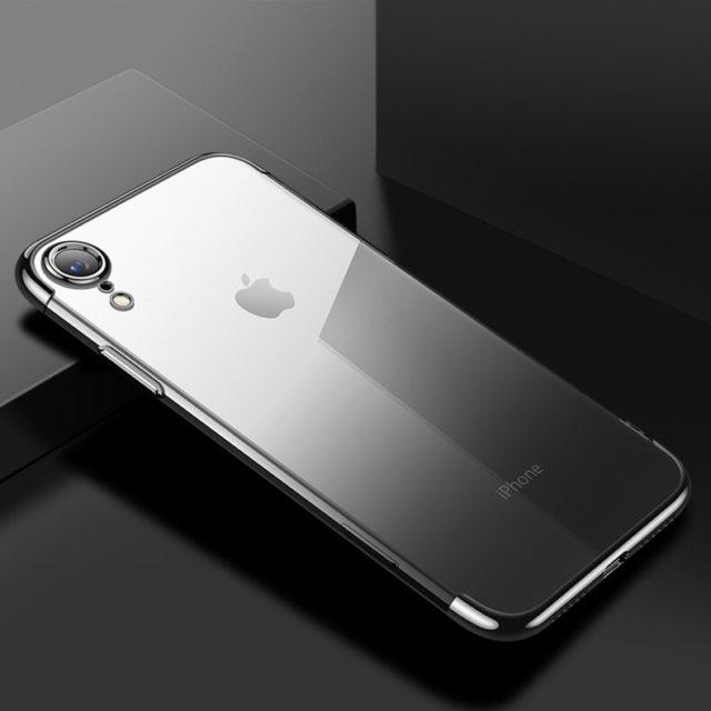 Transparent Gradient Soft Case for iPhone XR