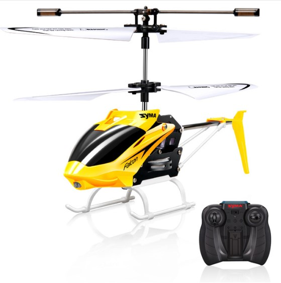 2 Channels Flexible Blades RC Helicopter Toy