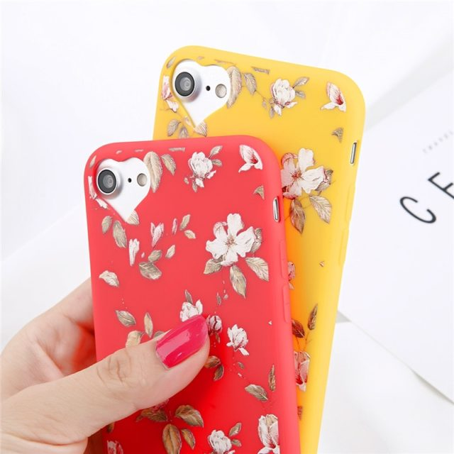Floral Patterned Case for iPhone