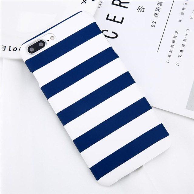 Striped Pattern TPU Case for iPhone