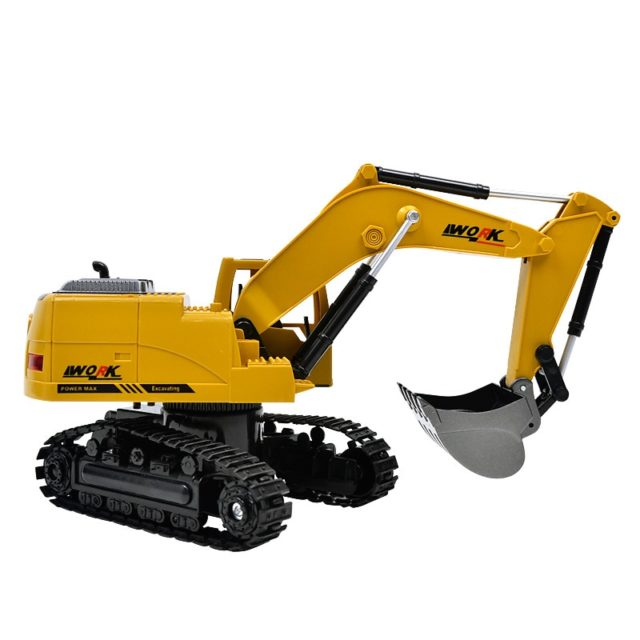 Remote Control Toy Excavator