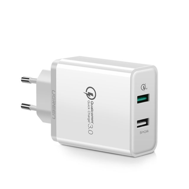 Dual Quick Charging USB Charger