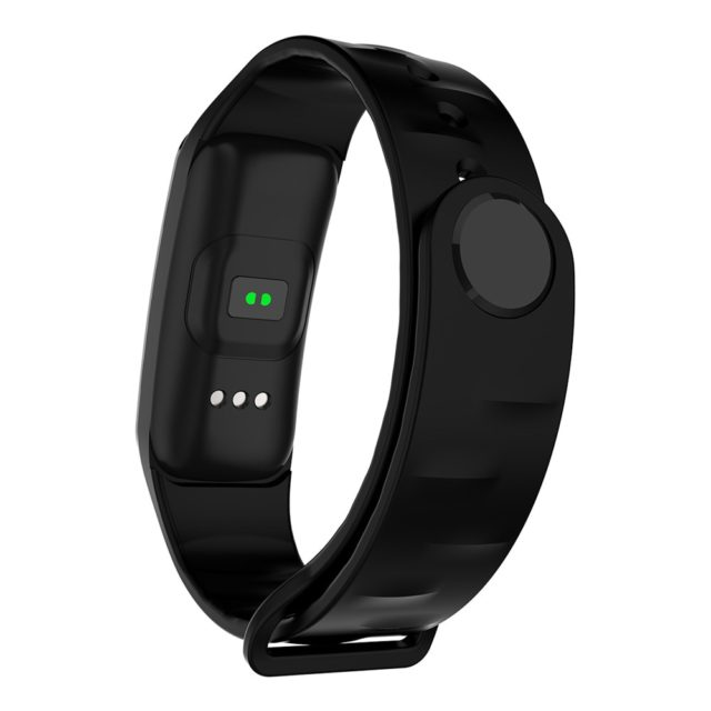 Unisex Rectangle Smart Wristband with Colorful Band