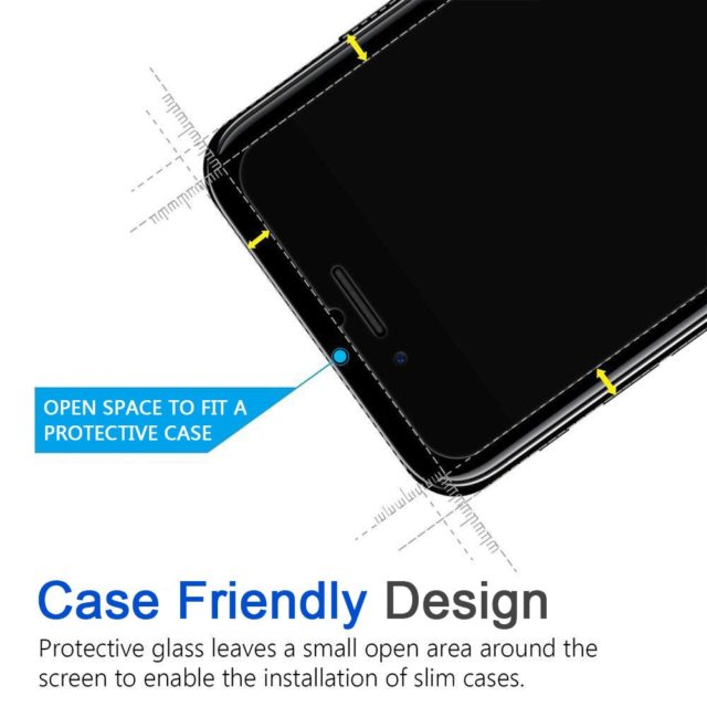 HD Tempered Glass for iPhone 3 pcs Set