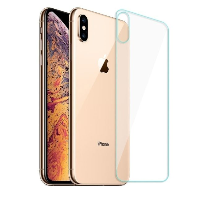 Front and Back Glass Protector for iPhone