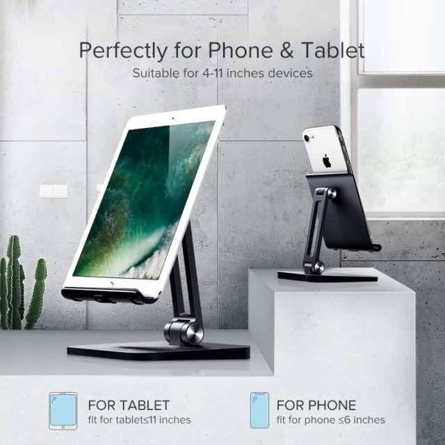 Simple Universal Desk Stand Holder for Phones
