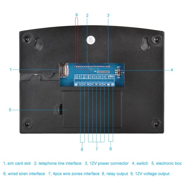 Keypad Wireless Home Security Kit