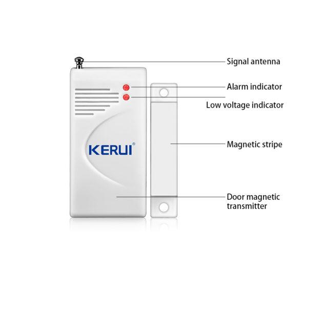 Wireless Magnetic Anti-Theft Sensor