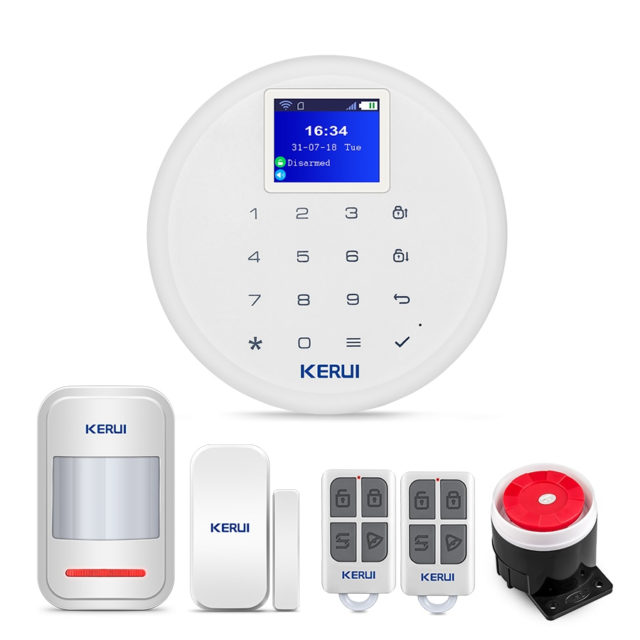 GSM Wifi Alarm System for Home