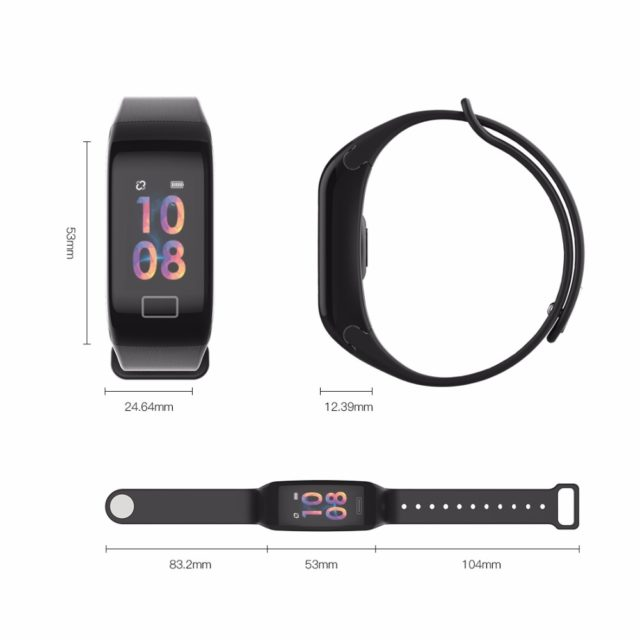 Unisex Color Screen Fitness Tracker