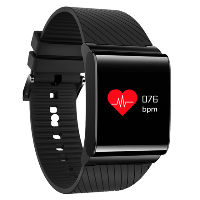 Square Smart Wristband with Blood Oxygen Monitor