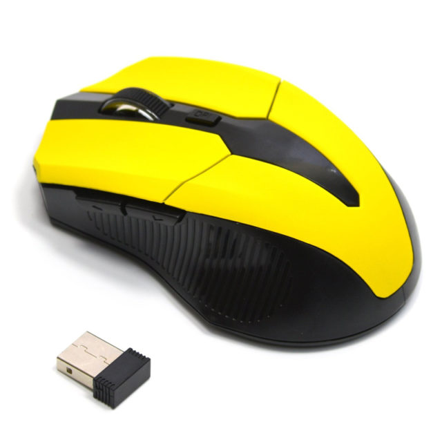 USB Wireless Red Optical Gaming Mouses