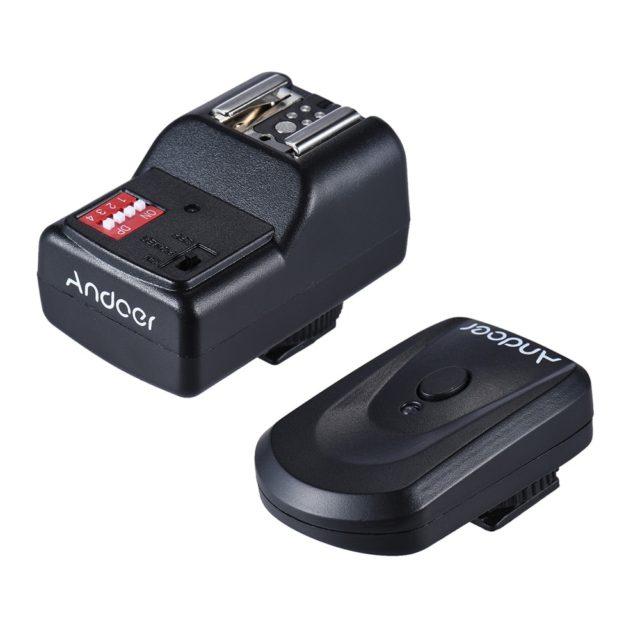 Universal Wireless Camera Flash with Remote Trigger