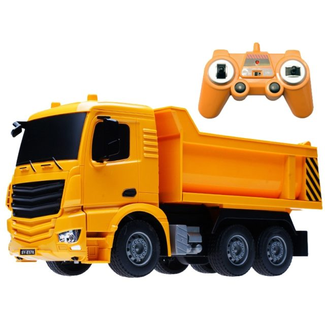 Remote Control Engineering Truck Toy