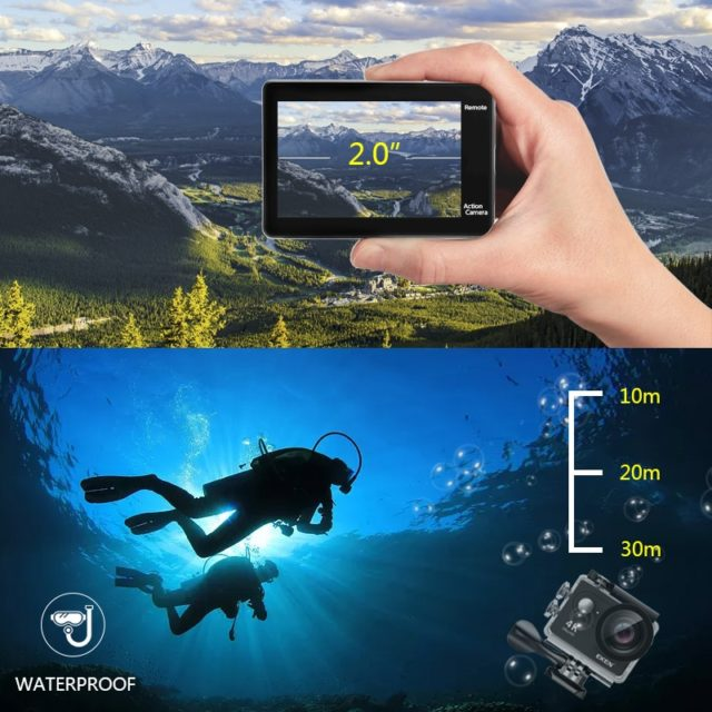 Ultra HD Waterproof  Action Camera