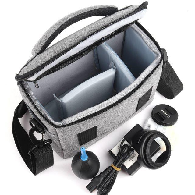 Large DSLR Camera Shoulder Bag