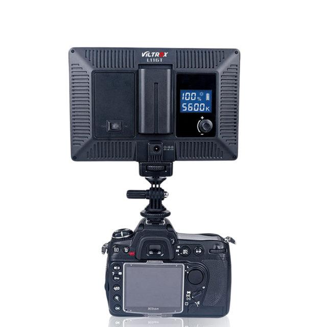 Thin LED Video Camera Light