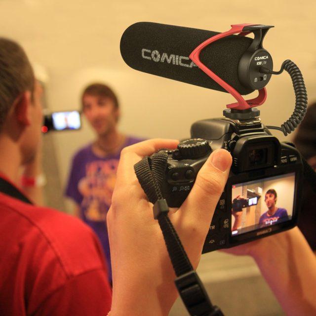Anti-Shock Phone and Camera Microphone