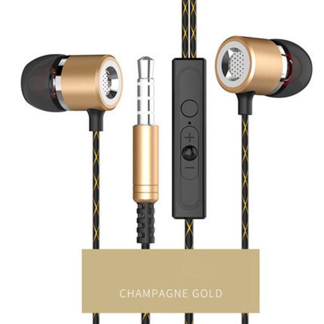 Metal In-ear Stereo Earphones