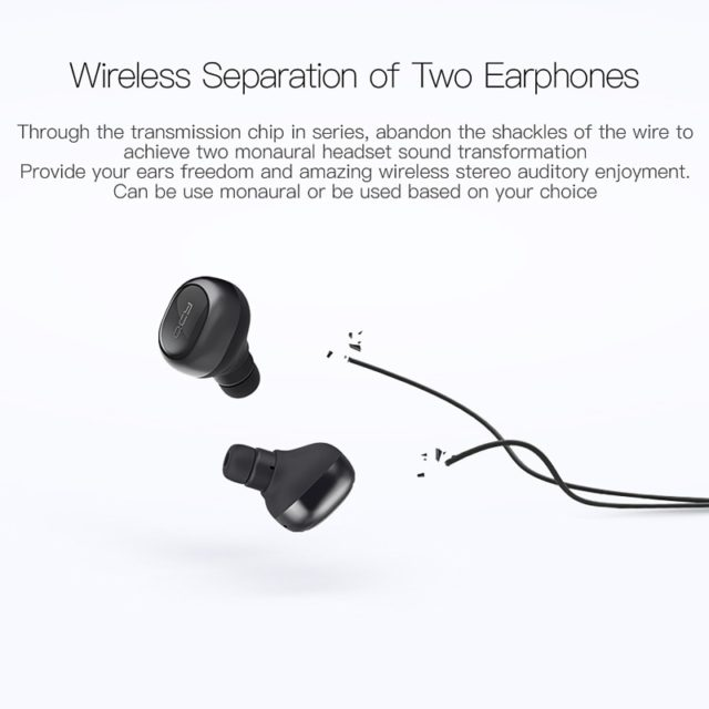 Bluetooth 3D Stereo Earphones with Microphone