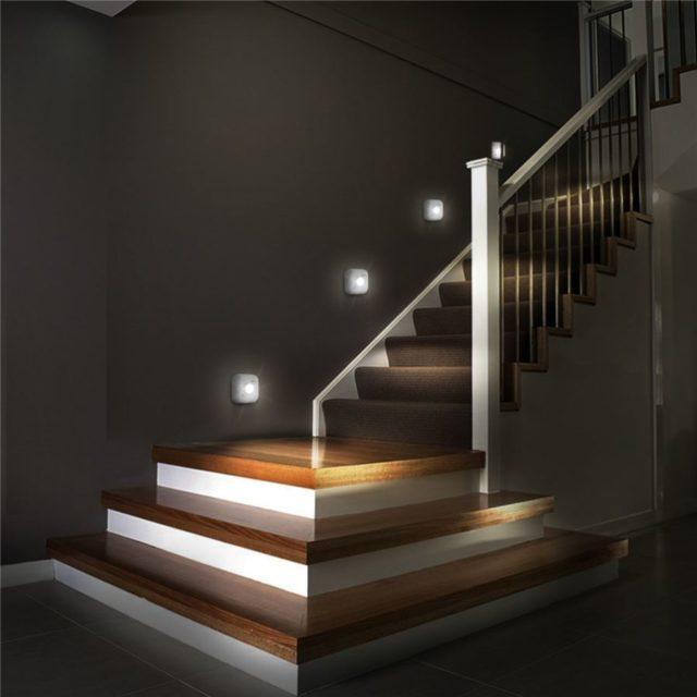 Smart Square LED Sensor Night Lights